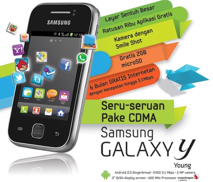 Samsung Galaxy Young Harga dan Spesifikasi Samsung Galaxy Young S5360