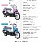 Yamaha Mio Fino 150x150 Harga dan Spesifikasi Yamaha Mio J