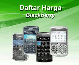Daftar Harga Blackberry Mei 2012