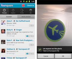 Foursquare Meluncurkan Update Aplikasi Android Terbaru