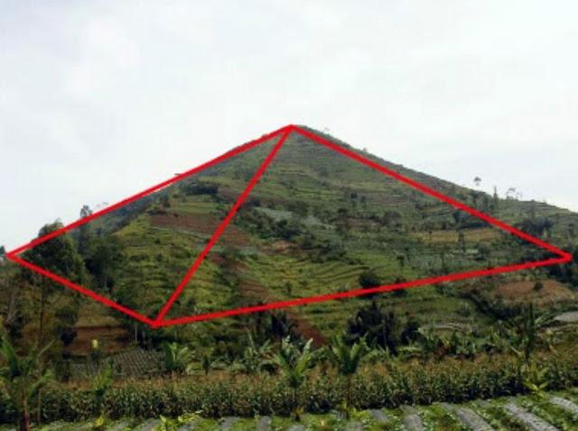 Foto Piramida Garut